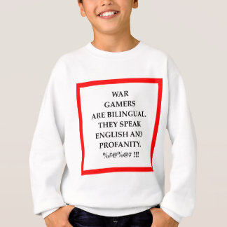 war games sweatshirt