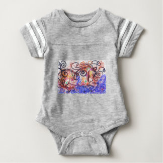 War Horse Baby Bodysuit