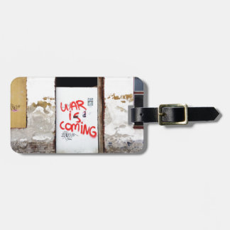 War Is Coming Luggage Tag
