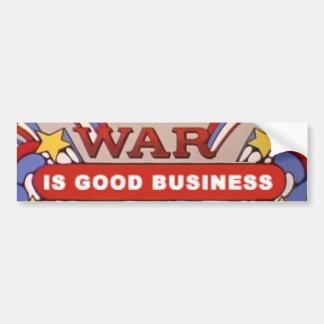 War is Good Business 1969 Bumper Sticker