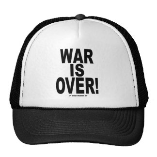 War Is Over if you want it Hats