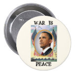 War Is Peace 7.5 Cm Round Badge