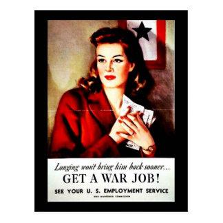 War Jobs Postcards