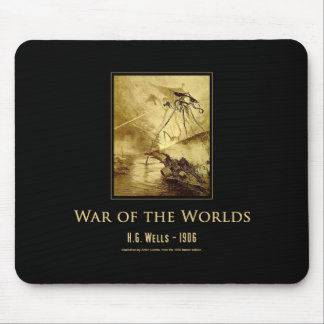 War of the Worlds (1906) Mousepad