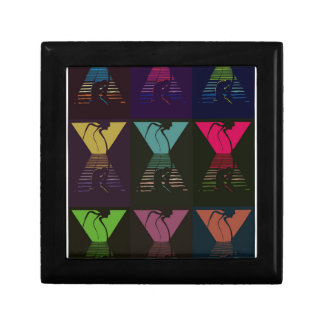 War of the Worlds Pattern Gift Box