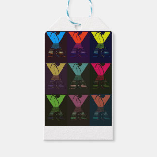 War of the Worlds Pattern Gift Tags