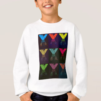 War of the Worlds Pattern Sweatshirt