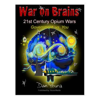 War on Brains Poster Postcard