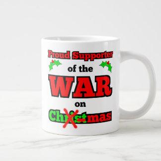 """""""War on Christmas"""" Jumbo X-mas Mug"""