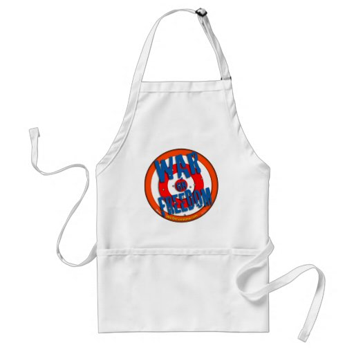 War on Freedom Aprons