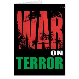 War On Terror Greeting Card