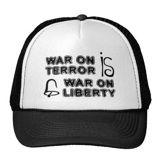 War on Terror is War on Liberty Trucker Hat