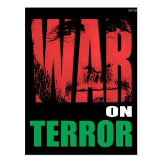War On Terror Postcard