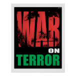 War On Terror Print