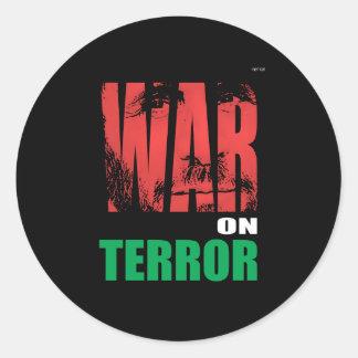 War On Terror Round Sticker