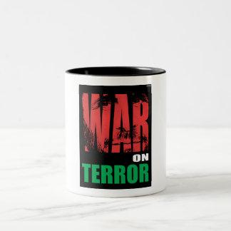 War On Terror Two-Tone Mug