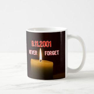 War On Terrorism - 911 Remembered Basic White Mug