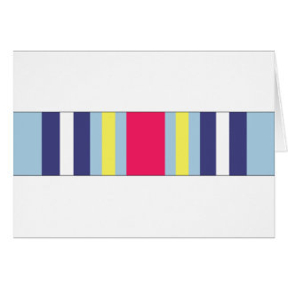 War On Terrorism Expeditionary Ribbon Card