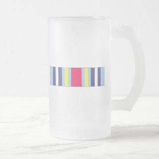 War On Terrorism Expeditionary Ribbon Frosted Glass Mug