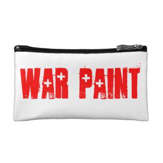 War Paint Make-Up Cosmetic Bag