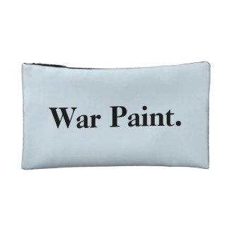 """""""war paint"""" makeup bag"""