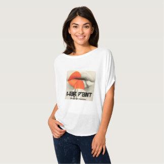 War Paint Orange lips awareness tshirt