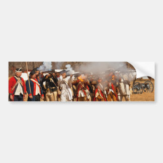 War - Revolutionary War - The musket drill Bumper Stickers