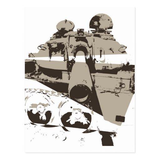 War Tank Postcard