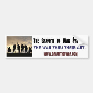 war thru their eyes bumper sticker