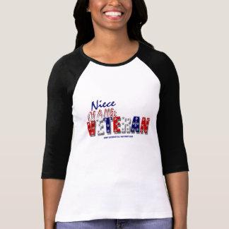 War veteran niece tee shirt