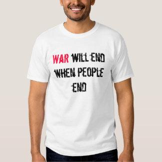 War Will End T-shirts
