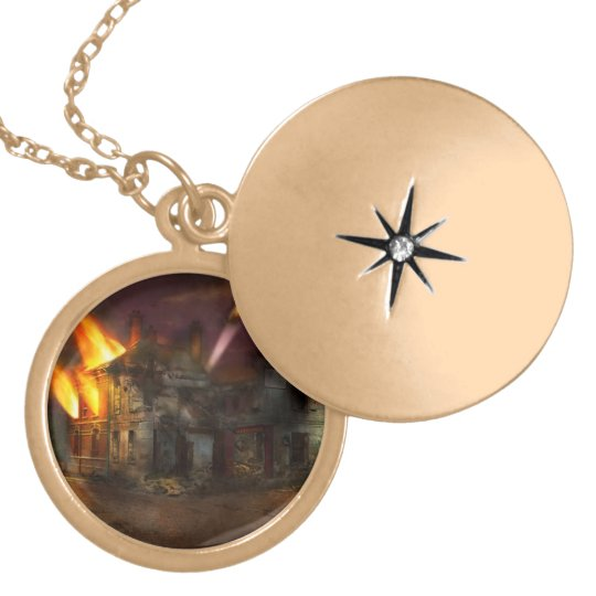 War - WWI - Not fit for man or beast 1910 Locket Necklace