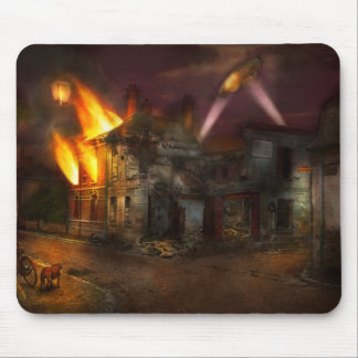 War - WWI - Not fit for man or beast 1910 Mouse Pad