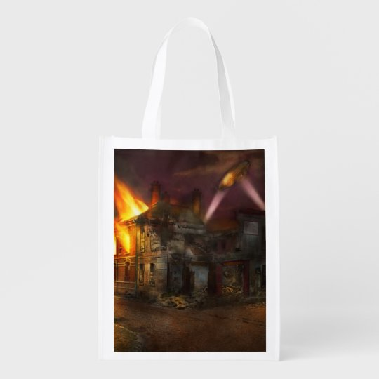 War - WWI - Not fit for man or beast 1910 Reusable Grocery Bag