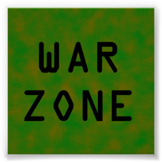 War Zone Poster