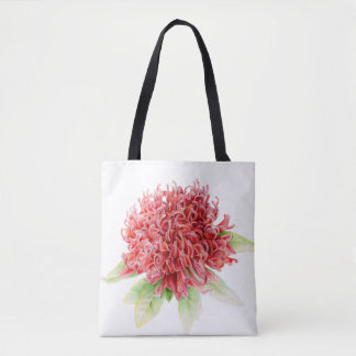Waratah red flower native Australian plant bag
