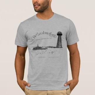 Wardenclyffe-Nikola Tesla-Wireless Pwer T-Shirt
