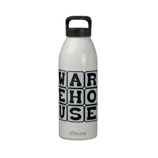 Warehouse, Site of Manual Labor Drinking Bottle