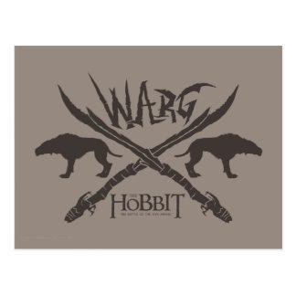 Warg Movie Icon Postcard
