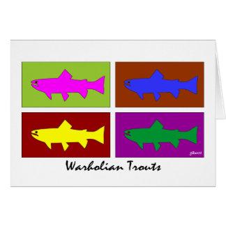 Warholian Trouts Card