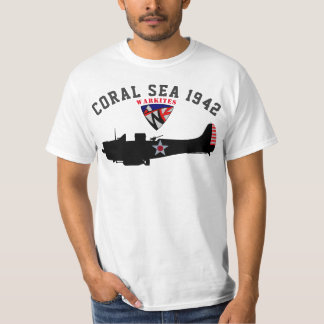 "Warkites ""Coral Sea 1942"" Dauntless T-Shirt"