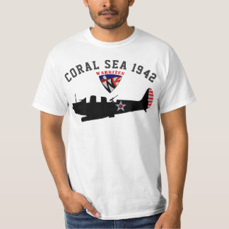 "Warkites ""Coral Sea 1942"" Devastator T-Shirt"