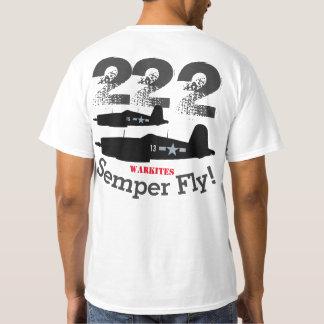 """Warkites Corsair """"Semper Fly"""" 222 T-Shirt"""