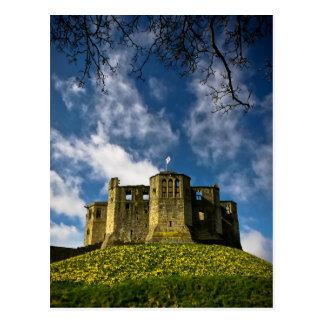 Warkworth Castle and Hermitage Postcard