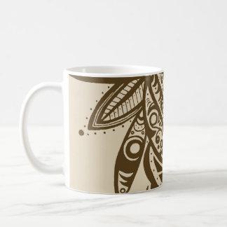 Warm Abstract Tea & Coffee Mug