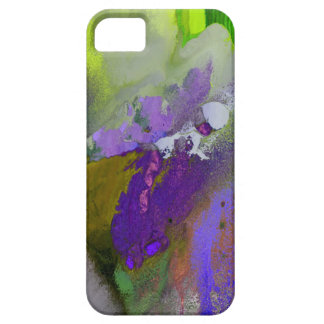 warm and cold colors splash barely there iPhone 5 case