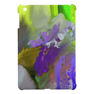 warm and cold colors splash iPad mini cases