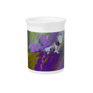 warm and cold colors splash pitcher
