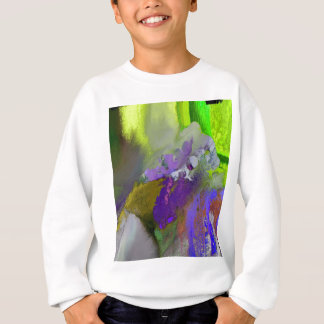 warm and cold colors splash sweatshirt