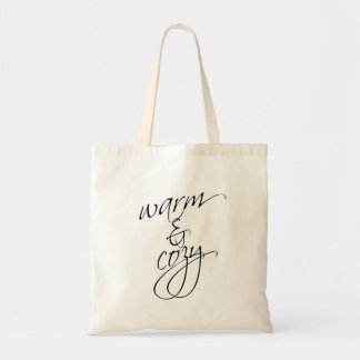 Warm and Cozy Tote Bag